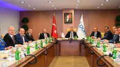 Vali Yavuz, DOKA Yönetim Kurulu Toplantısına Katıldı