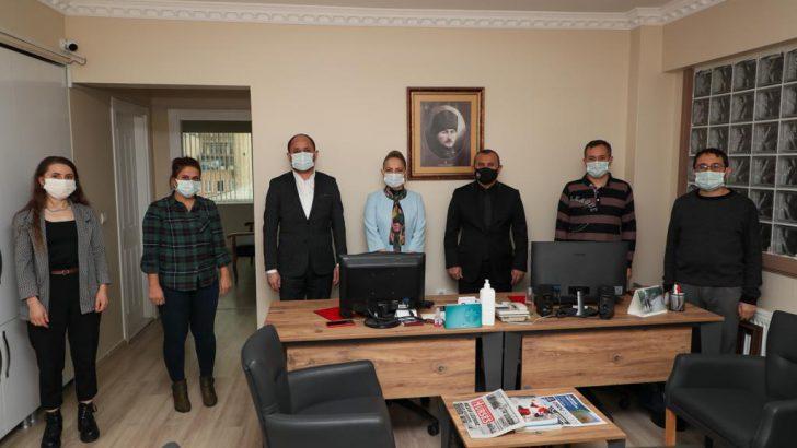 VALİ SONEL, BASIN MENSUPLARIMIZ, 'ORDU AİLESİ'NİN BİR PARÇASIDIR
