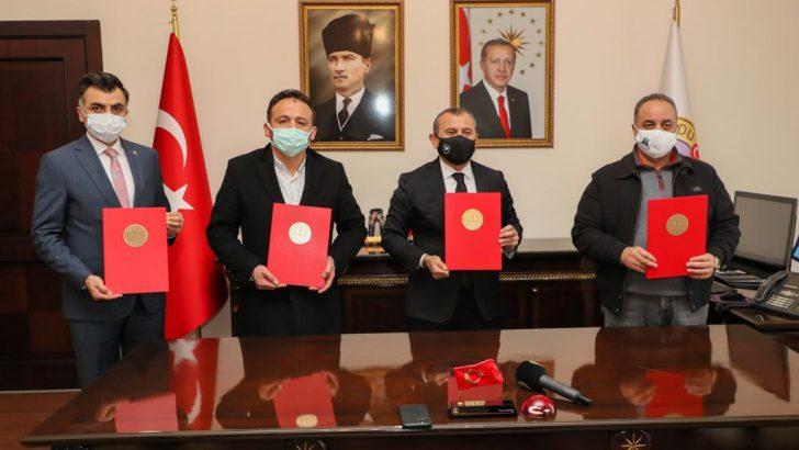 Ordu Valisi Sonel, 39'uncu okulun protokolünü imzaladı