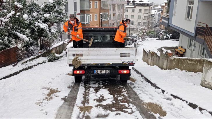 ALTINORDU BELEDİYESİ'NDEN GELEN İHBARLARA ANINDA MÜDAHALE