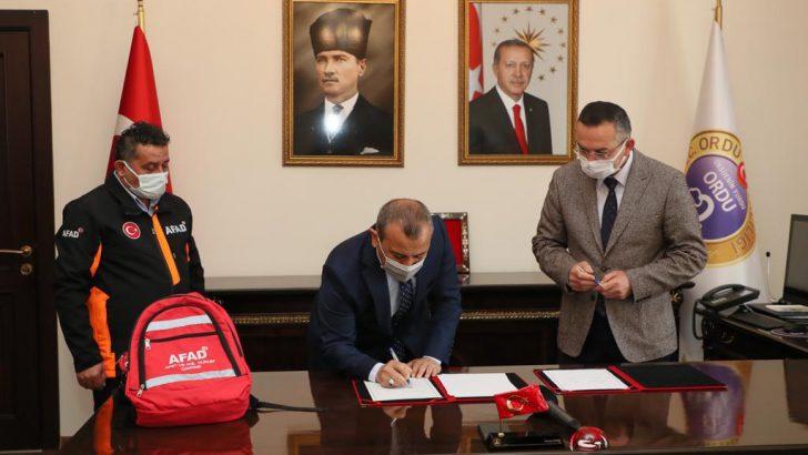 2021 Yılı Afet Farkındalık Eğitimi İşbirliği Protokolü İmzalandı