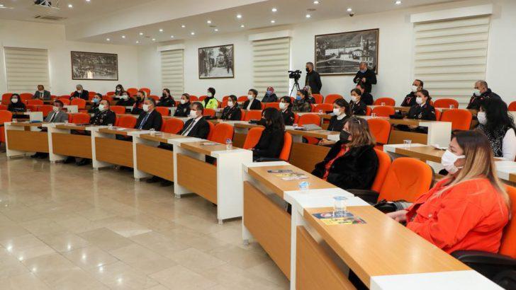 ORDU'DA KADIN STK'LAR BİLGİLENDİRİLDİ