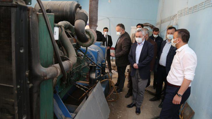 Fatsa'da su kesintilerine jeneratörlü çözüm