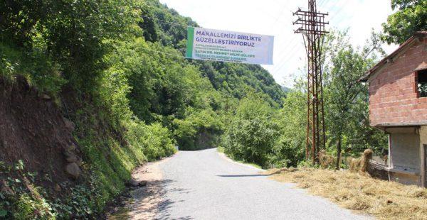 VATANDAŞLAR BAŞKAN GÜLER'E MİNNETTAR