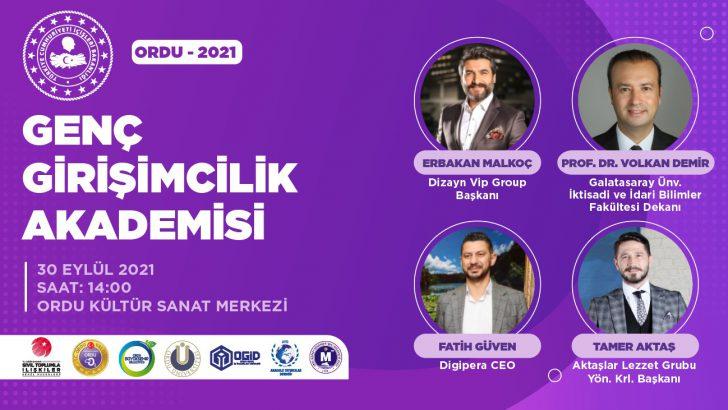 ORDU GENÇ GİRİŞİMCİ İŞ İNSANLARINDAN DEV KONFERANS