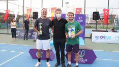 Ordu'da tenis turnuvası sona erdi